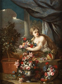 flora by luca giordano and gaspare lopez