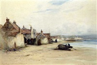 lower largo, the birthplace of robinson crusoe by james macmaster
