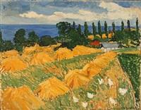landscape by anne margrethe grosell