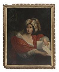 the cumaean sibyl by guercino