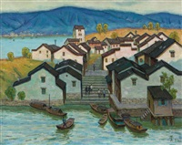 水乡 (region of rivers and lakes) by xu junxuan