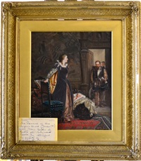 removal of the infant james i from mary queen of scots by robert alexander hillingford