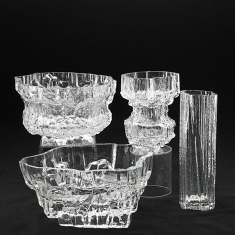 vases 4 works by tapio wirkkala