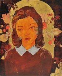 portrait de jeune fille by alix aymé