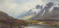 rising mists, argyllshire by donald a. paton
