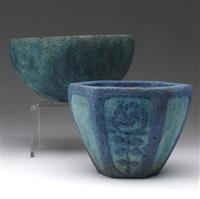 two bowls by arthur e. baggs