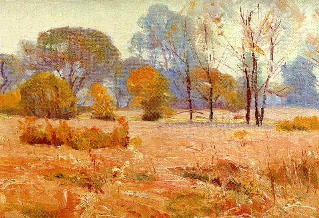 Illinois Landscape By Paul Turner Sargent