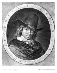 porträt von adriaen van ostade by jacob gole