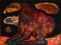 nattens hest by vibeke alfelt
