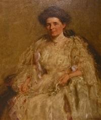portrait of mrs. cass by henry salem hubbell