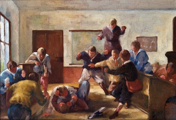 rauferei in der schule by arnold borisovich lakhovsky