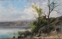 scorcio con lago by guido agostini