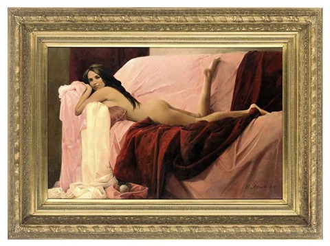 the pink sofa by nikolai leykin