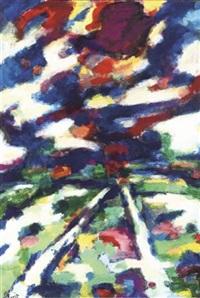 a landscape by engelbert l' hoest