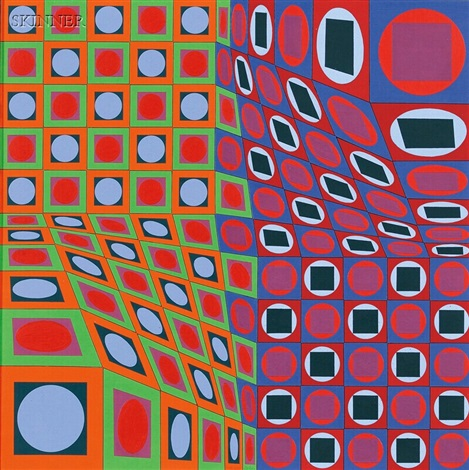 halph by victor vasarely