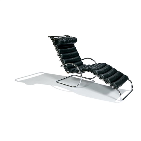 Early Adjustable Mr Chaise By Ludwig Mies Van Der Rohe