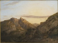 ben arthur from loch lomond by charlotte nasmyth