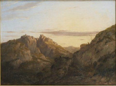 ben arthur from loch lomond by charlotte nasmyth