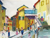 my town, noyons, provenance by fred yates