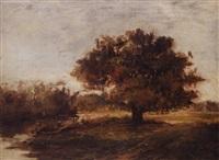 louisiana bayou scene by sidonia (mrs. lewis crager) loeb
