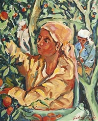 the fruit pickers by audrey fourie