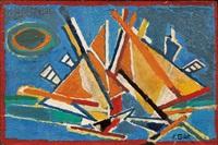 bateaux ii by françoise gilot