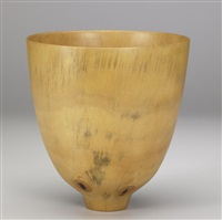 footed bowl by ron kent