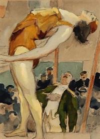 akrobatflicka by gösta von hennigs