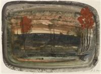 landscape by eugène gabritschevsky