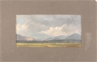 mount washington meadows by benjamin champney
