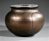 urn by shearwater pottery