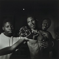 boxing, philadelphia by larry fink