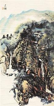 山水 by liang tianzhu