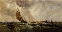 An offshore breeze, 1857–1857