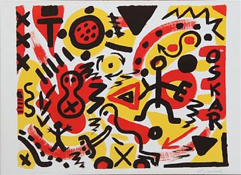 composition by ar penck