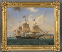 portrait of the ship