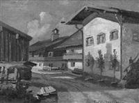 dorfstraße by paul götz-racknitz