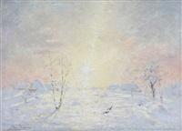 vue en hiver by frans jan simons