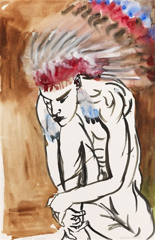 miguel indian by rainer fetting