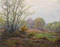 new forest scene by frederick golden short