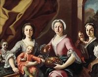 familienbildnis by carlo amalfi