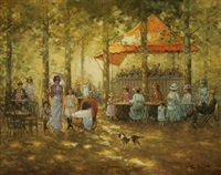 afternoon at the fair by jacques muller