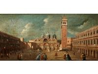 venedig-vedute mit blick über den markusplatz auf san marco mit campanile by francesco guardi