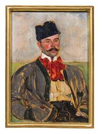 selbstporträt by vlastimil hofmann