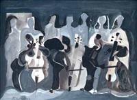 la orquesta by antonio valdivieso