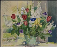 flower study by charles hepburn scott