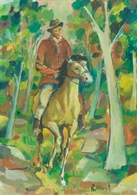 uomo a cavallo by roberto masi
