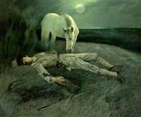 沉寂了的月光曲 (clair de lune) by xu weide