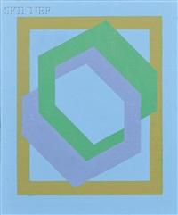 op art composition by hannes beckmann