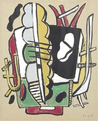 composizione by fernand léger